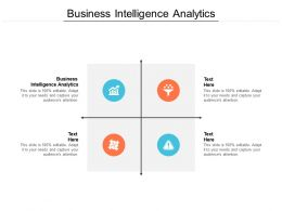 Business Intelligence Analytics Ppt Powerpoint Presentation File Vector Cpb