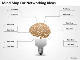 Business Intelligence Architecture Diagram Mnd Map For Networking Ideas Powerpoint Slides 0515