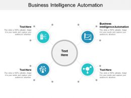 Business Intelligence Automation Ppt Powerpoint Presentation Gallery Diagrams Cpb