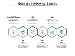 Business Intelligence Benefits Ppt Powerpoint Presentation Show File Formats Cpb