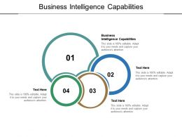 Business Intelligence Capabilities Ppt Powerpoint Presentation Portfolio Example File Cpb