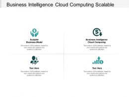 Business Intelligence Cloud Computing Scalable Business Model Franchisee Model Cpb