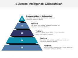 Business Intelligence Collaboration Ppt Powerpoint Presentation Styles Graphic Tips Cpb