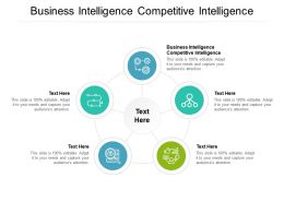 Business Intelligence Competitive Intelligence Ppt Professional Information Cpb