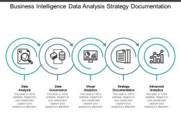 Business Intelligence Data Analysis Strategy Documentation