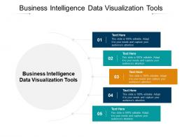 Business Intelligence Data Visualization Tools Ppt Powerpoint Presentation Infographics Ideas Cpb