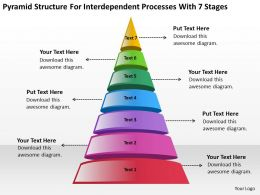 Business Intelligence Diagram For Interdependent Processes With 7 Stages Powerpoint Templates