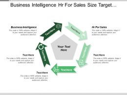 Business Intelligence Hr For Sales Size Target Market Segments