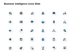Business Intelligence Icons Slide Achievements Ppt Powerpoint Slides