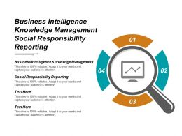 Business Intelligence Knowledge Management Social Responsibility Reporting Cpb