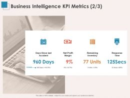 Business Intelligence KPI Metrics Margin Ppt Powerpoint Presentation Templates
