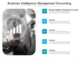 Business Intelligence Management Accounting Ppt Powerpoint Presentation Slides Cpb