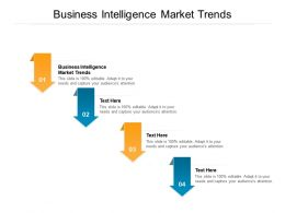 Business Intelligence Market Trends Ppt Powerpoint Presentation Pictures Structure Cpb