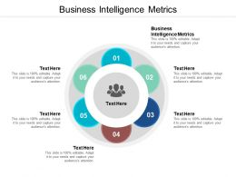 Business Intelligence Metrics Ppt Powerpoint Presentation Pictures Graphics Design Cpb