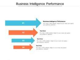 Business Intelligence Performance Ppt Powerpoint Presentation Gallery Slide Cpb