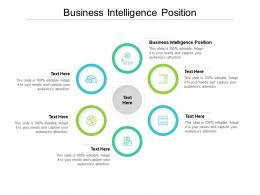 Business Intelligence Position Ppt Powerpoint Presentation Summary Slide Cpb