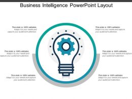Business Intelligence Powerpoint Layout