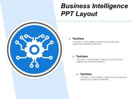 Business Intelligence Ppt Layout