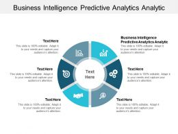 Business Intelligence Predictive Analytics Analytic Ppt Powerpoint Presentation Inspiration Cpb