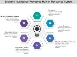 Business Intelligence Processes Human Resources System