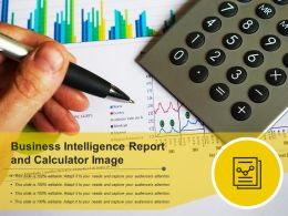 Business Intelligence Report And Calculator Image