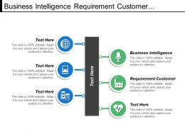 Business Intelligence Requirement Customer Project Scope Project Plan
