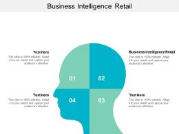 Business Intelligence Retail Ppt Powerpoint Presentation Icon Structure Cpb