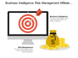 Business Intelligence Risk Management Affiliate Marketing Property Investment
