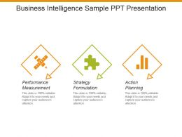 Business Intelligence Sample Ppt Presentation