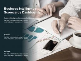 Business Intelligence Scorecards Dashboards Ppt Powerpoint Presentation Professional Picture Cpb