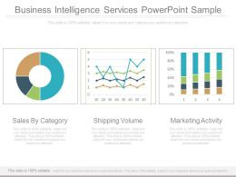 Business Intelligence Services Powerpoint Sample
