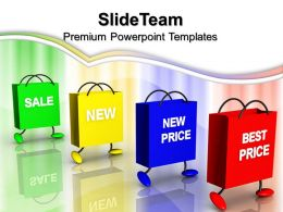 Business Intelligence Strategy And Prices Shopping Carry Sale Ppt Presentation Powerpoint