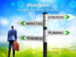 Business Intelligence Strategy Templates Marketing Planning Ppt Slides Powerpoint