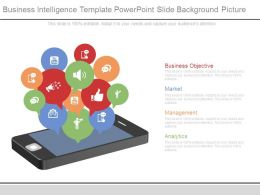 Business Intelligence Template Powerpoint Slide Background Picture