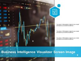 Business Intelligence Visualizer Screen Image
