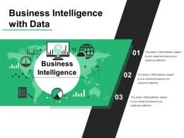 Business Intelligence With Data