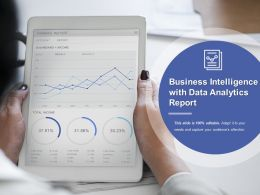 Business Intelligence With Data Analytics Report