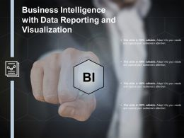 Business Intelligence With Data Reporting And Visualization