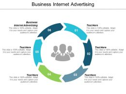 Business Internet Advertising Ppt Powerpoint Presentation Gallery Slides Cpb