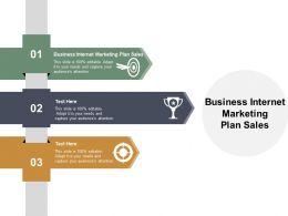 Business Internet Marketing Plan Sales Ppt Powerpoint Presentation Summary Samples Cpb