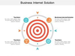 Business Internet Solution Ppt Powerpoint Presentation Gallery Show Cpb