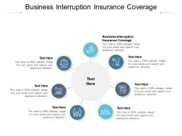 Business Interruption Insurance Coverage Ppt Powerpoint Presentation File Summary Cpb