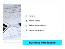 Business Introduction Business Operations Management Ppt Professional