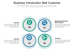 Business Introduction Mail Customer Ppt Powerpoint Professional Elements Cpb
