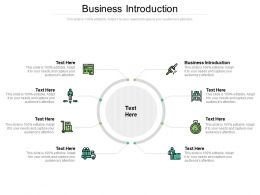 Business Introduction Ppt Powerpoint Presentation Infographics Pictures Cpb