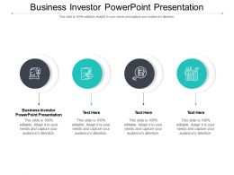 Business Investor Powerpoint Presentation Ppt Powerpoint Presentation Icon Infographics Cpb