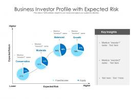 Business Investor Profile With Expected Risk