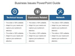 Business Issues Powerpoint Guide
