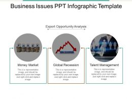 Business Issues Ppt Infographic Template