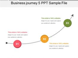 Business Journey 5 PPT Sample File